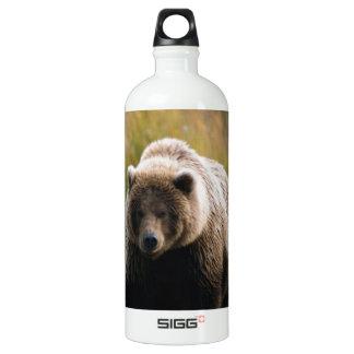 A Brown Bear Walking on a Trail SIGG Traveller 1.0L Water Bottle