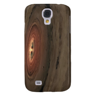 A brown dwarf surrounded by a swirling disk galaxy s4 case