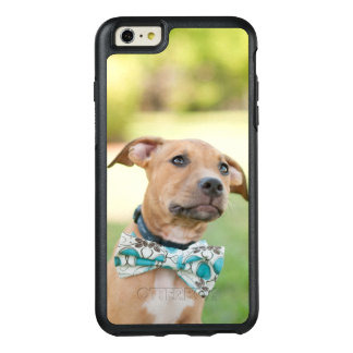 A Brown Puppy Wears A Colorful Bow Tie OtterBox iPhone 6/6s Plus Case