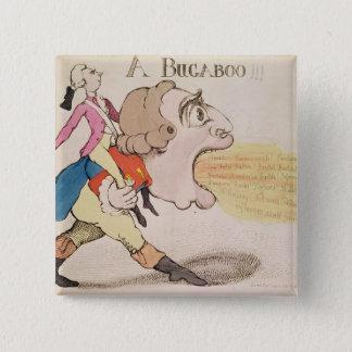A Bugaboo!!! 15 Cm Square Badge