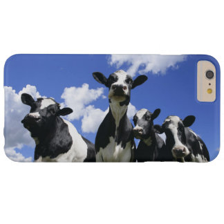 A bugs eye view of four young calves barely there iPhone 6 plus case