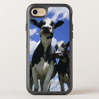 A bugs eye view of four young calves OtterBox symmetry iPhone 8/7 case