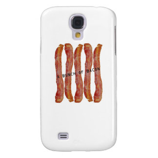 a bunch of bacon galaxy s4 cover