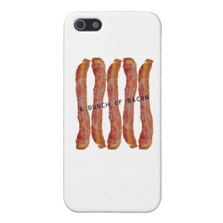 a bunch of bacon iPhone 5 cases