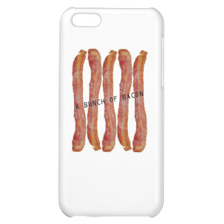 a bunch of bacon iPhone 5C cases
