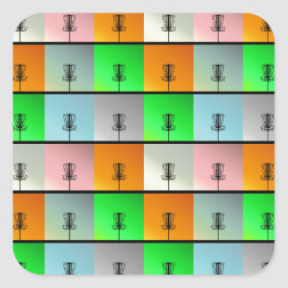 A Bunch of Baskets Square Sticker
