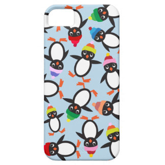 A Bunch of Cute Penguins Collage Phone Case