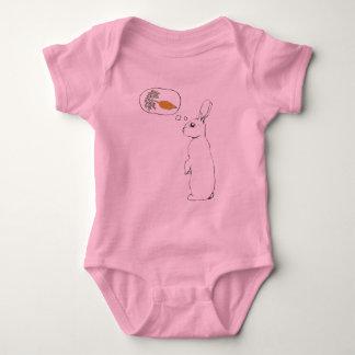 A Bunny's Dream Baby Bodysuit
