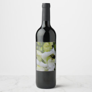 A Busy Bee Wine Label