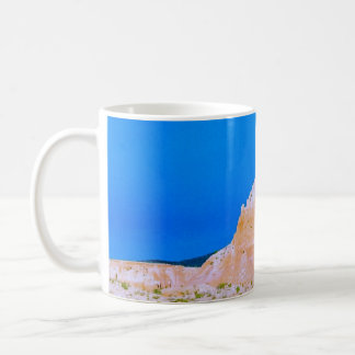 A butte at Ghost Ranch Coffee Mug