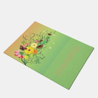 A Butterfly Tree Doormat