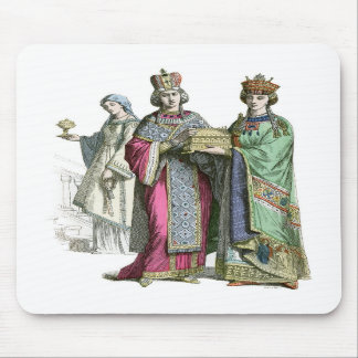A Byzantine Princess and her ladies Mousemat