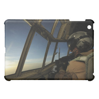 A C-130 Hercules pilot scans the horizon iPad Mini Cover