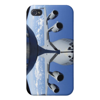 A C-17 Globemaster III receives fuel Covers For iPhone 4
