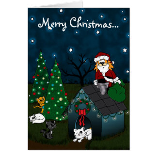'A Caboodle Christmas' Greeting Card