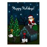 'A Caboodle Christmas' Postcard