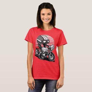 A Café racer named Helmet T-Shirt