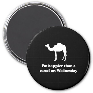 A Camel on Wednesday Magnet