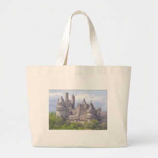 A Camelot Summer Large Tote Bag