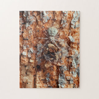 A Camouflaged Bark Spider Jigsaw Puzzle
