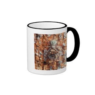 A Camouflaged Bark Spider Mug
