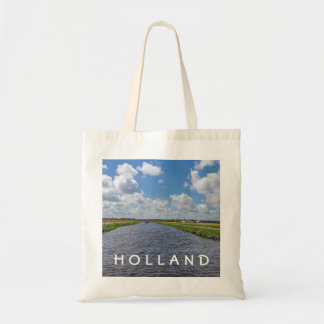 A canal in Holland tote bag