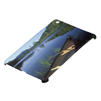 A canoe rests on the shore of Little Long Pond iPad Mini Case