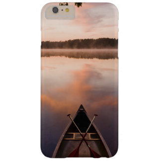 A canoe rests on the shore of Pawtuckaway Lake Barely There iPhone 6 Plus Case