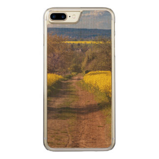 A canola field in spring carved iPhone 7 plus case