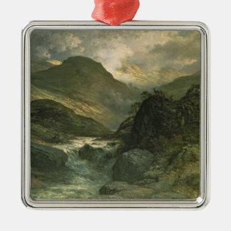 A Canyon, 1878 Christmas Ornament