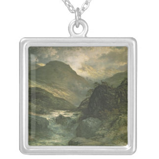 A Canyon, 1878 Silver Plated Necklace