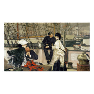 A Captain and First Mate Entertaining the Ladies Pack Of Standard Business Cards