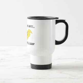 A Captain Cure Morning Stainless Steel Travel Mug
