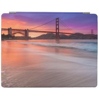 A capture of San Francisco's Golden Gate Bridge iPad Cover
