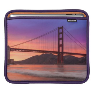 A capture of San Francisco's Golden Gate Bridge iPad Sleeve
