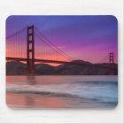 A capture of San Francisco's Golden Gate Bridge Mouse Mat