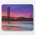 A capture of San Francisco's Golden Gate Bridge Mouse Pad