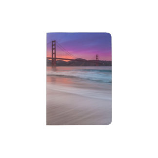 A capture of San Francisco's Golden Gate Bridge Passport Holder