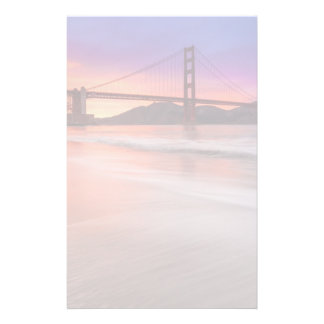 A capture of San Francisco's Golden Gate Bridge Personalized Stationery