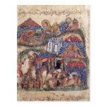 A Caravan Stop, from 'The Maqamat'  by Post Cards