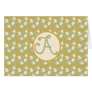 """""""a"""" card"""