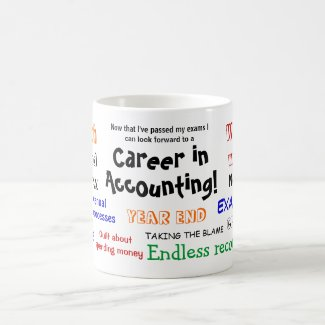 A Career in Accounting! Exam Success Coffee Mugs