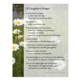 A Caregiver s Prayer - Postcard