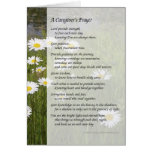 A Caregiver's Prayer - Greeting Card