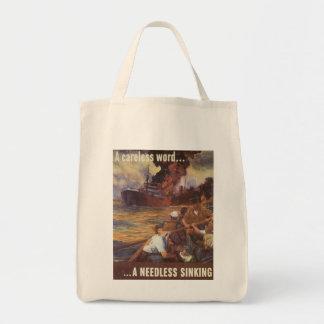 A Careless Word World War 2 Bags