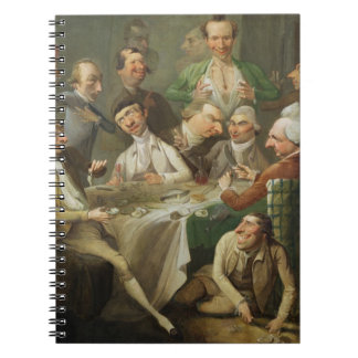 A Caricature Group, c.1776 (oil on canvas) Notebook