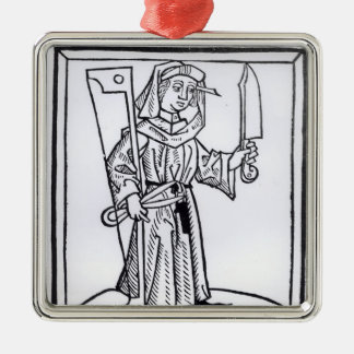 A Carpenter Christmas Ornament