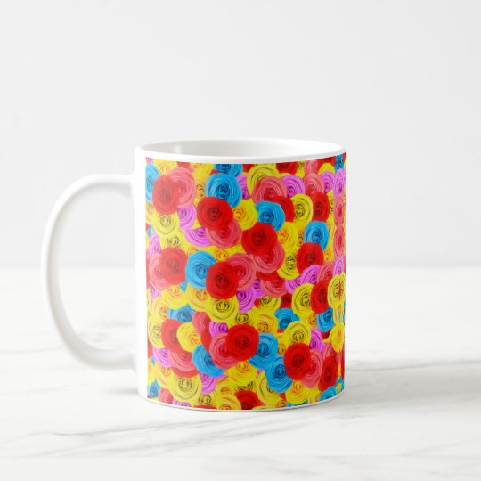 A Carpet of Roses Coffee Mug