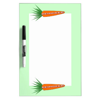 A Carrot for Christmas Reindeer Memo Board