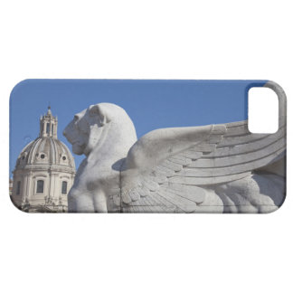 A carved winged lion at the front of the Victor Case For The iPhone 5